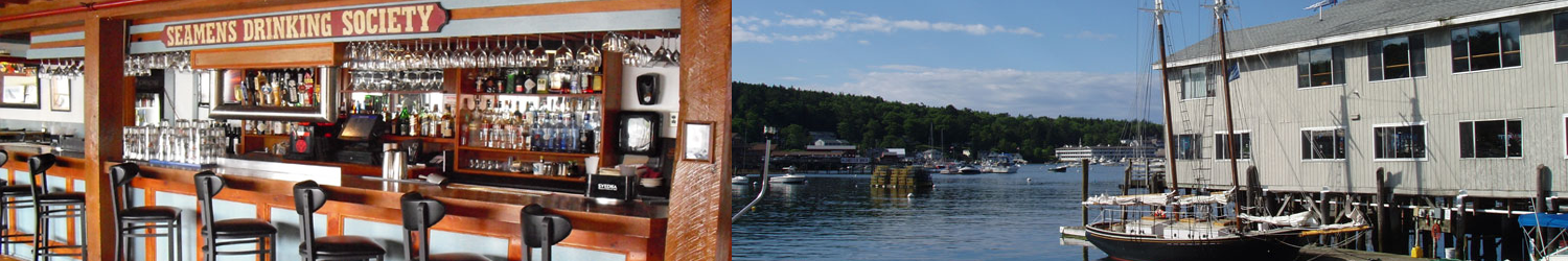 Mine Oyster Bar and View, Boothbay Harbor Maine